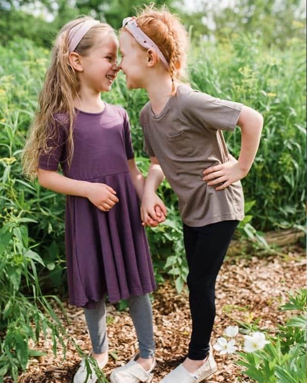ellie and anders girl leggings